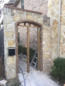Archway After Repair